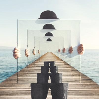 Glas Bilder und Leinwände